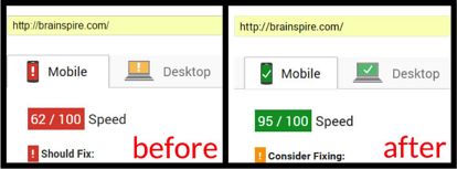 Google_PageSpeed_Score_Brainspire.png